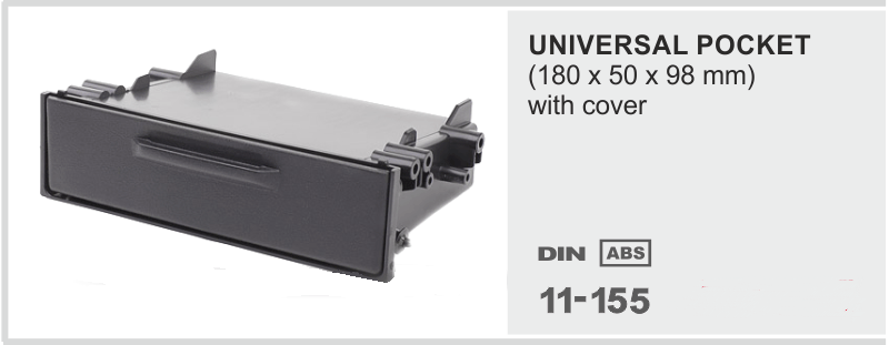 1DIN ΝΤΟΥΛΑΠΑΚΙ universal  1-11-155