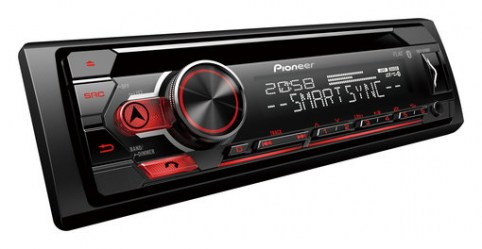 pioneer DEH-S420BT    Bluetooth Σχεδιασμένο για  i phone  & android